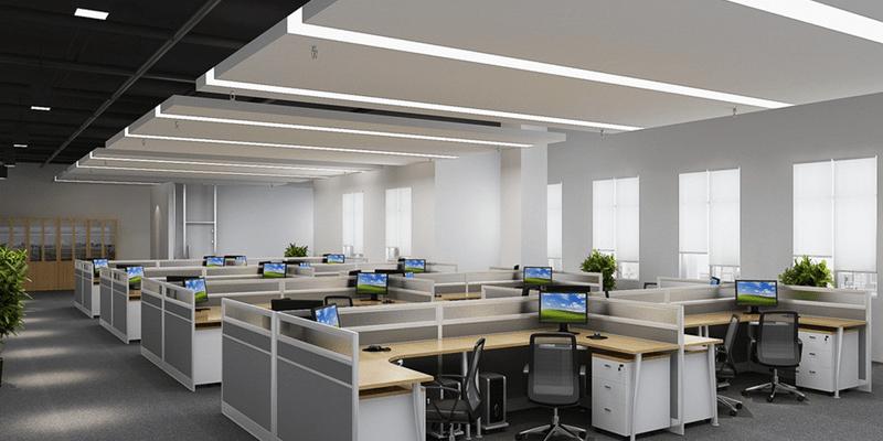 Tendencias de iluminación que desearás para tu oficina